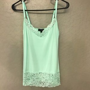 Women's Mint Colored Cami Limited Size Small